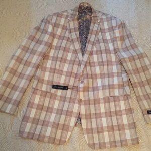 Men's VanHeusen linen sport jacket NWT